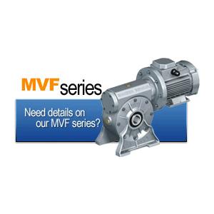 گیربکس حلزونی سری MVF