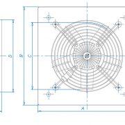 هواكش آكسيال صنعتی – سبک فلزی
