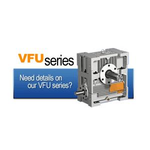گیربکس حلزونی سری VFU