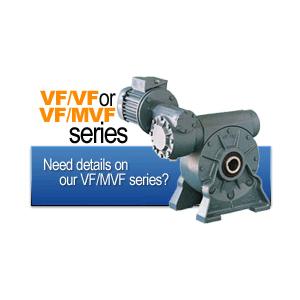 گیربکس حلزونی سریVF/VF و MVF/VF
