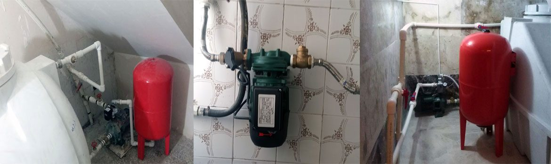 تعمیر و سرویس پمپ آب خانگی و منبع